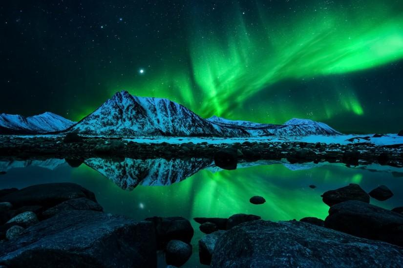new aurora borealis wallpaper 1920x1200 for mobile