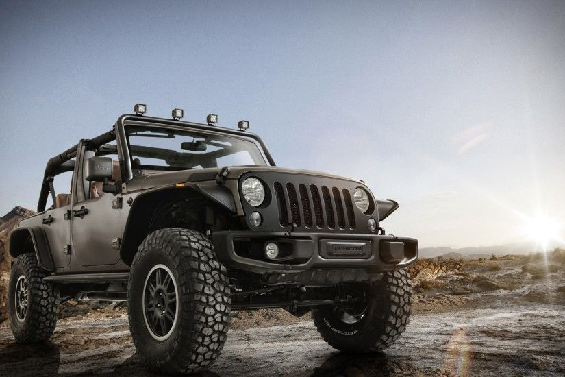 Jeep Wrangler Unlimited Rubicon Stealth pickup 4k HD wallpaper