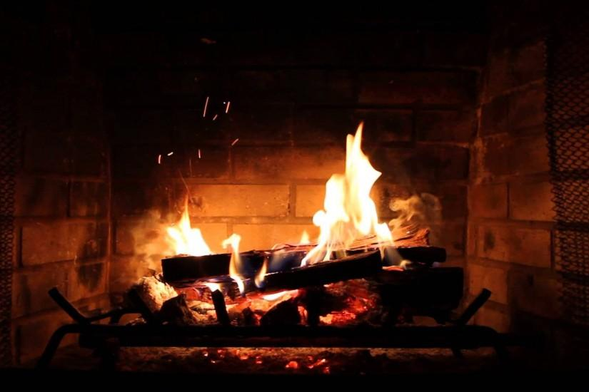 Images For > Cozy Fireplace Wallpaper