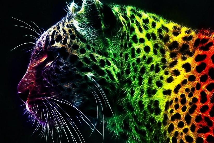 Download Animal Abstract Art Hd Wallpaper | Full HD Wallpapers