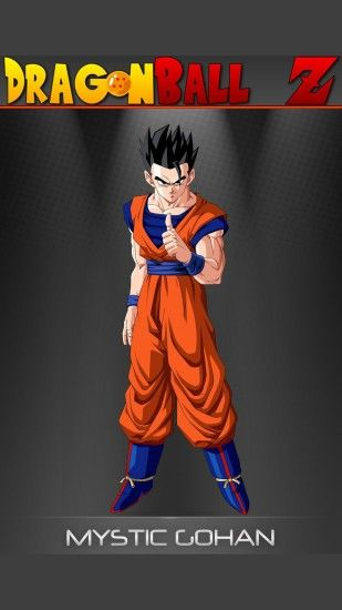Mystic Gohan - Dragon Ball Z Mobile Wallpaper 12590
