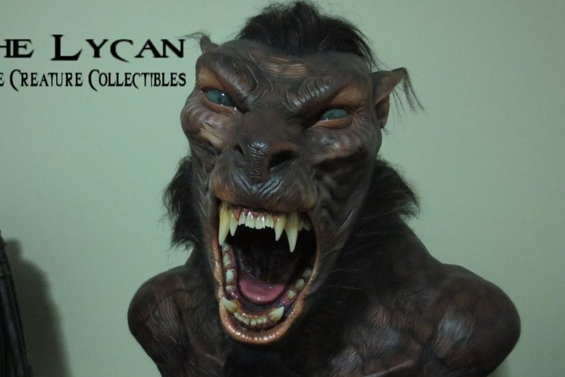 'The Lycan' Life-Size Bust by Elite Creature Collectibles | Underworld |  ECC | Review - YouTube