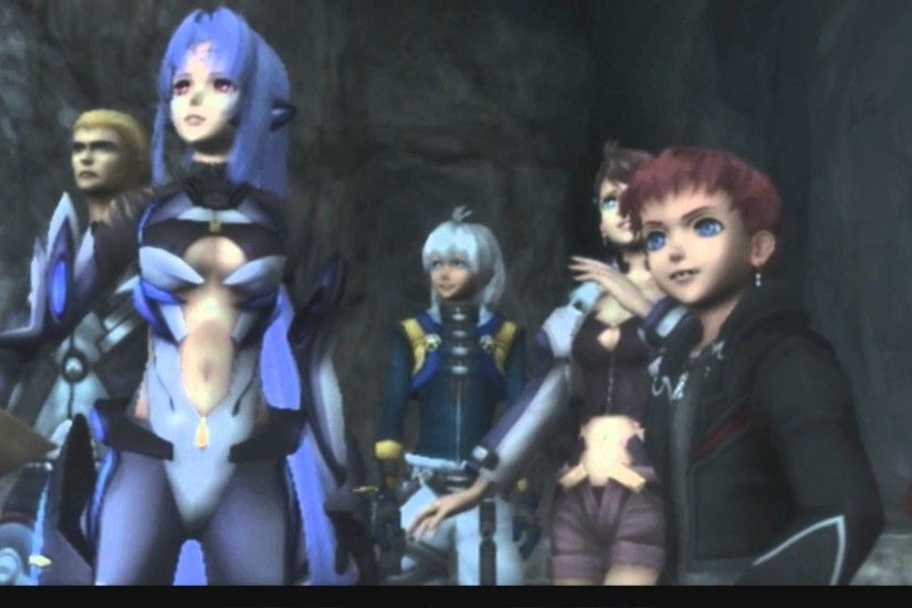 Xenosaga III HD Cutscene 100 - KOS-MOS vs. T-elos (Ancient Temple Tomb) -  ENGLISH - YouTube