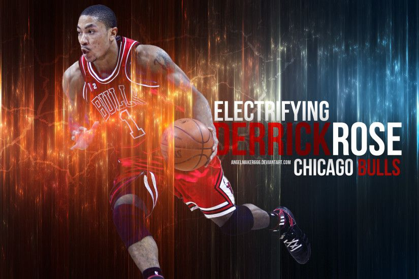 NBA Picture as Computer Wallpaper - Electrifying Derrick Rose, God's  Blessed Man