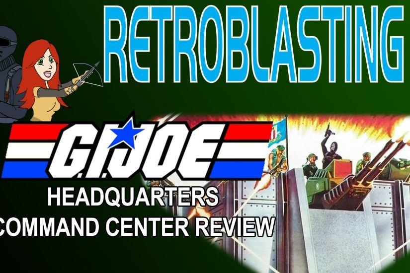 G.I. Joe Headquarters Command Center Vintage Playset Review ARAH - YouTube