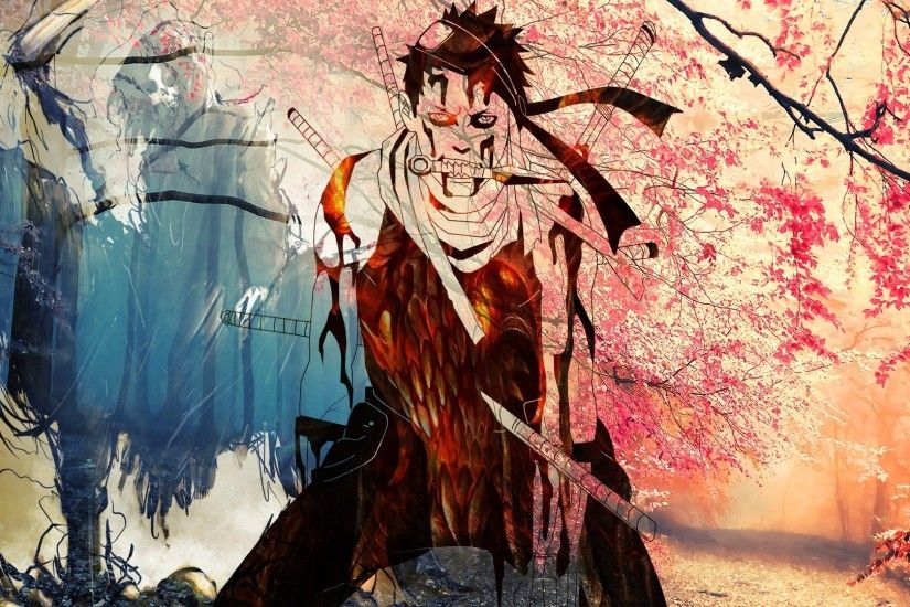 Momochi Zabuza, Death, Colorful, Naruto Shippuuden Wallpapers HD / Desktop  and Mobile Backgrounds