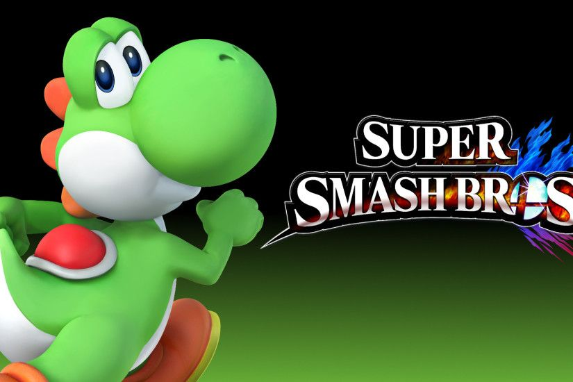 Smash bros 4 wallpaper yoshi by thewolfgalaxy watch fan art wallpaper png  1920x1080 Yoshi wallpaper hd