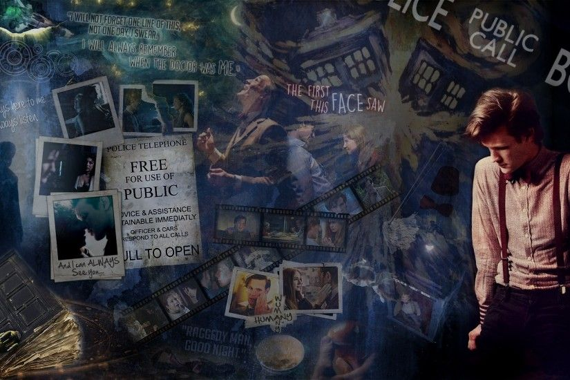 11th Doctor Tribute Wallpaper by SikuX 11th Doctor Tribute Wallpaper by  SikuX
