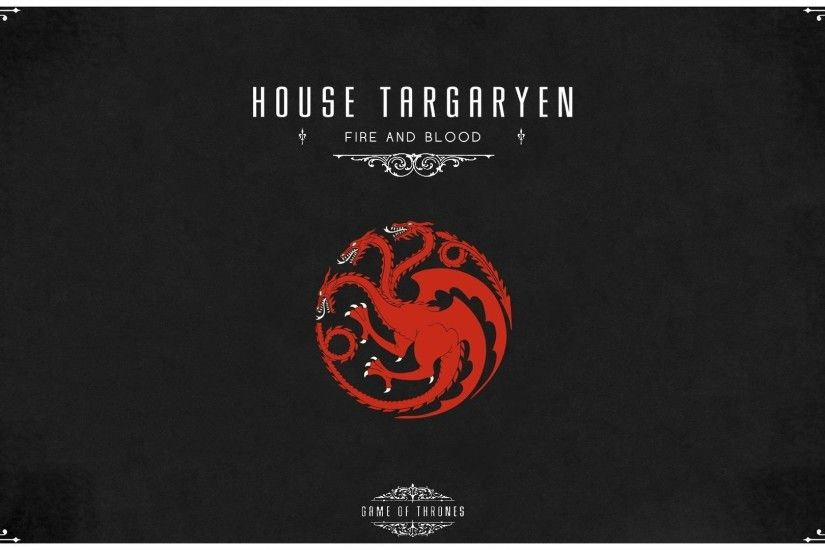Game of Thrones House Targaryen wallpaper | 1920x1080 | 301868 | WallpaperUP