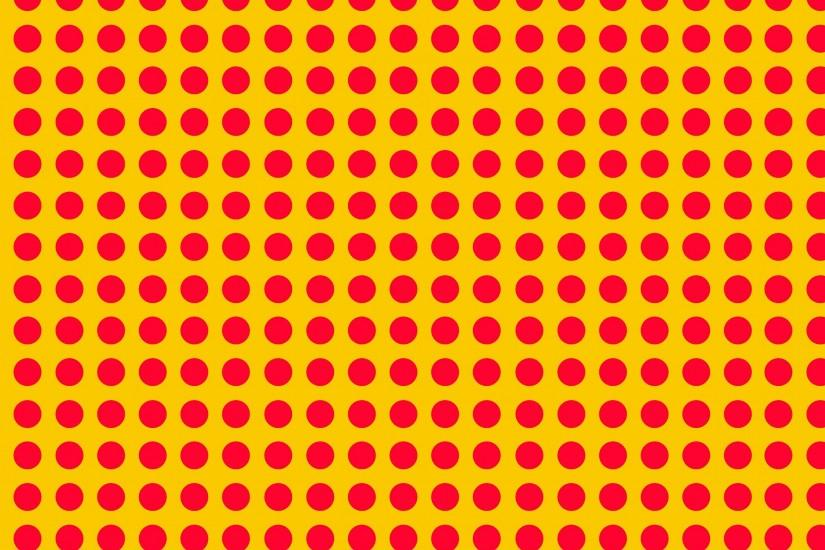 ... pink dot yellow background ...