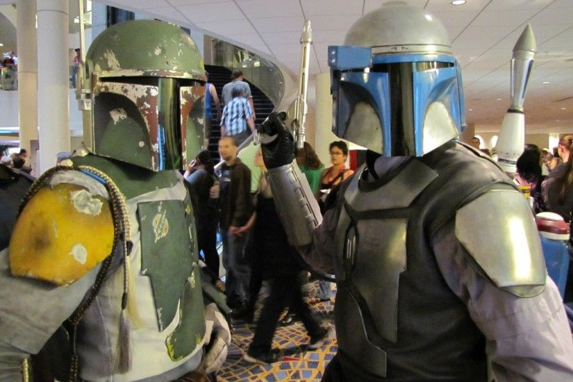 2048x1536 Boba Fett and Jango Fett Costume
