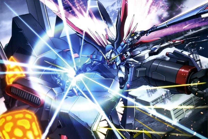 widescreen wallpaper mobile suit gundam seed destiny by Burne Round  (2017-03-03