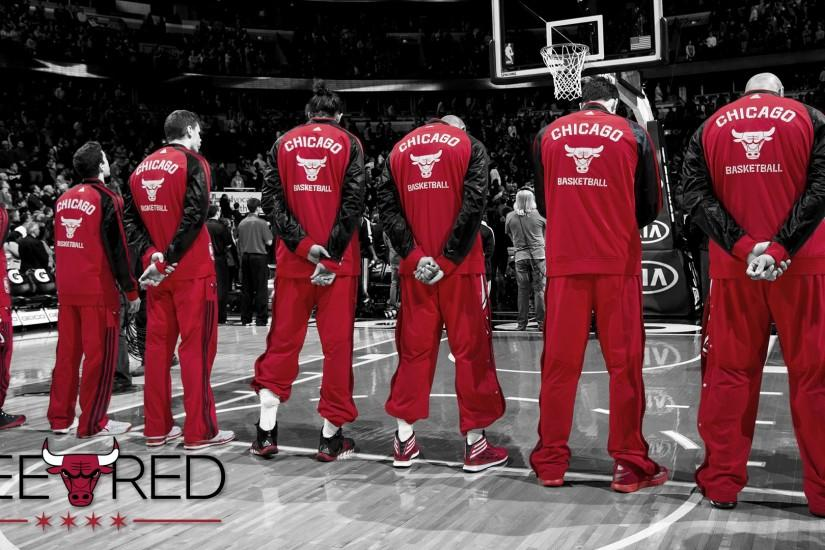 #SeeRed: starting line-up #wallpaper · Chicago BullsHd ...