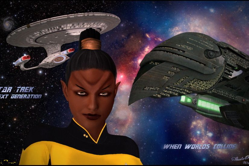 Star Trek-The Next Generation images TNG - When worlds collide HD wallpaper  and background photos