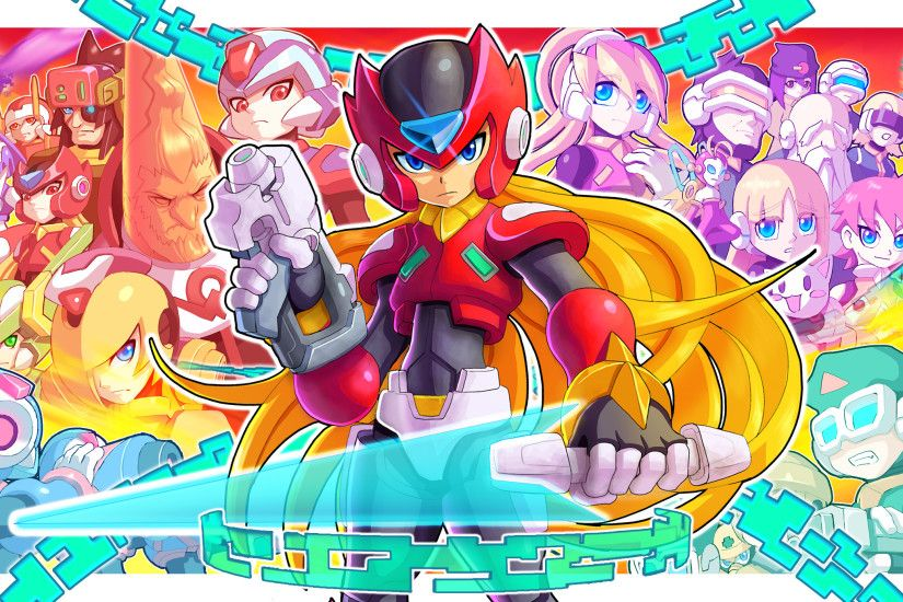 HD Wallpaper | Background ID:760467. 2577x1387 Video Game Mega Man Zero  Collection