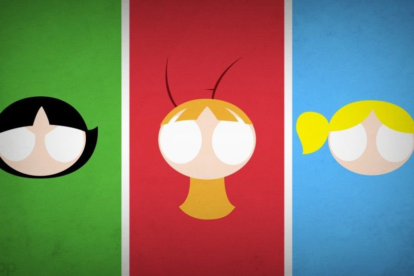 Blo0p Powerpuff Girls Superheroes