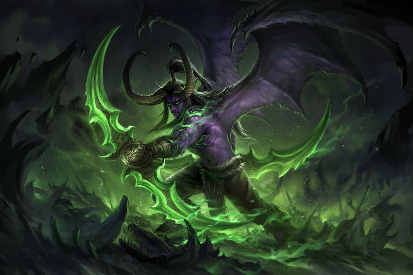 ... Illidan (large ver) by sandara