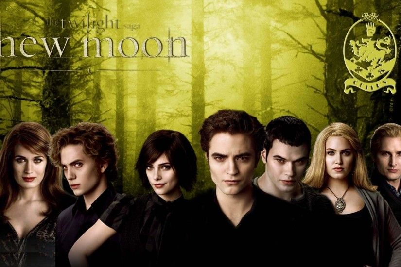 HD New Moon Wallpaper - The Cullens - Twilight Series Wallpaper .