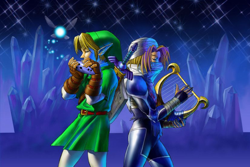 Legend Of Zelda Ocarina Of Time Wallpapers High Definition