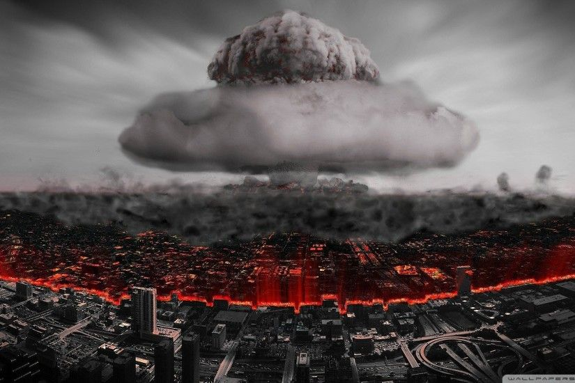 Bomb Cities Cityscapes Destroyed City Nuclear