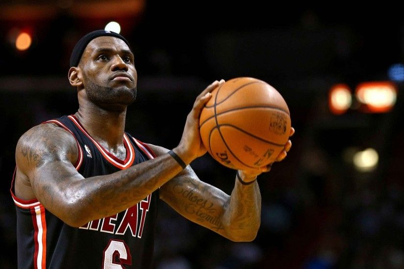 2048x1152 Wallpaper lebron james, nba, miami heat, basketball
