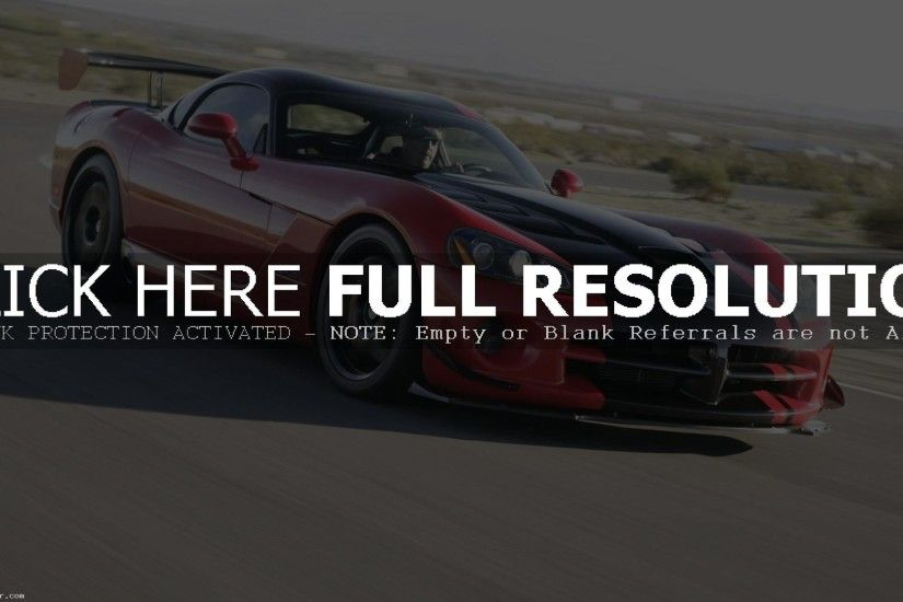 DODGE VIPER SRT ACR HD WALLPAPER