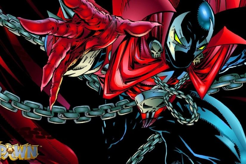 ... spawn wallpaper ...