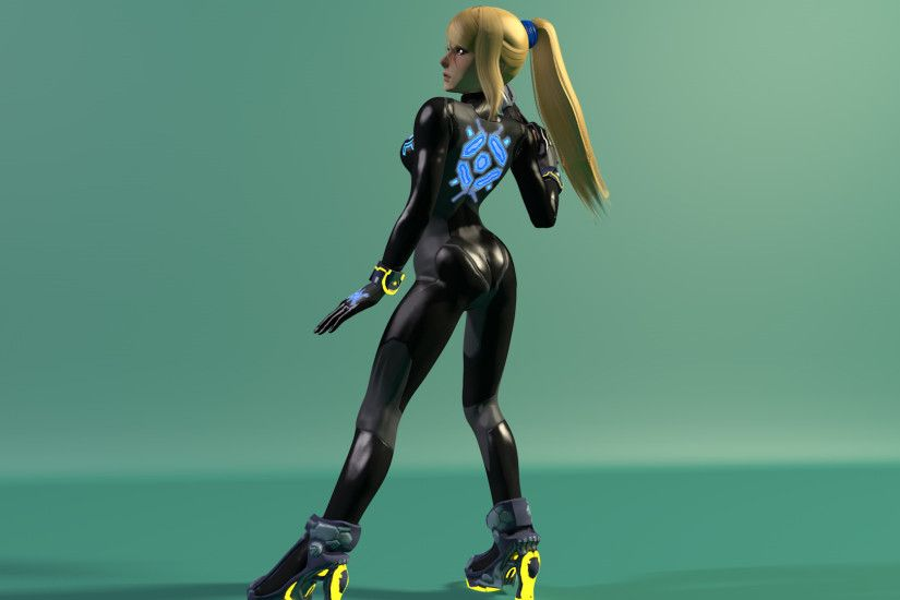 Zero Suit Samus by Carro1001 Zero Suit Samus by Carro1001