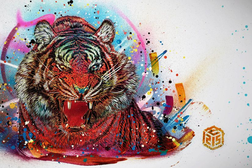 Far Cry 4 Tiger Art