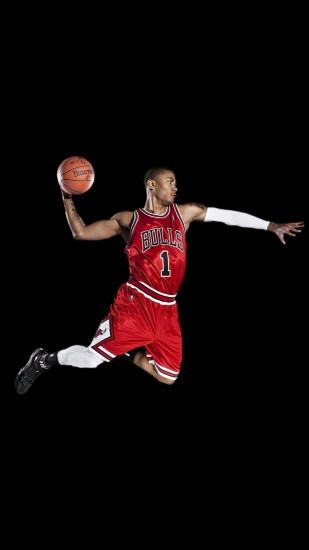 Chicago Bulls Derrick Rose iPhone 6+ HD Wallpaper ...