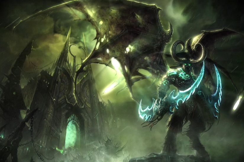 PreView Illidan Stormrage by Night [World Of Warcraft] :