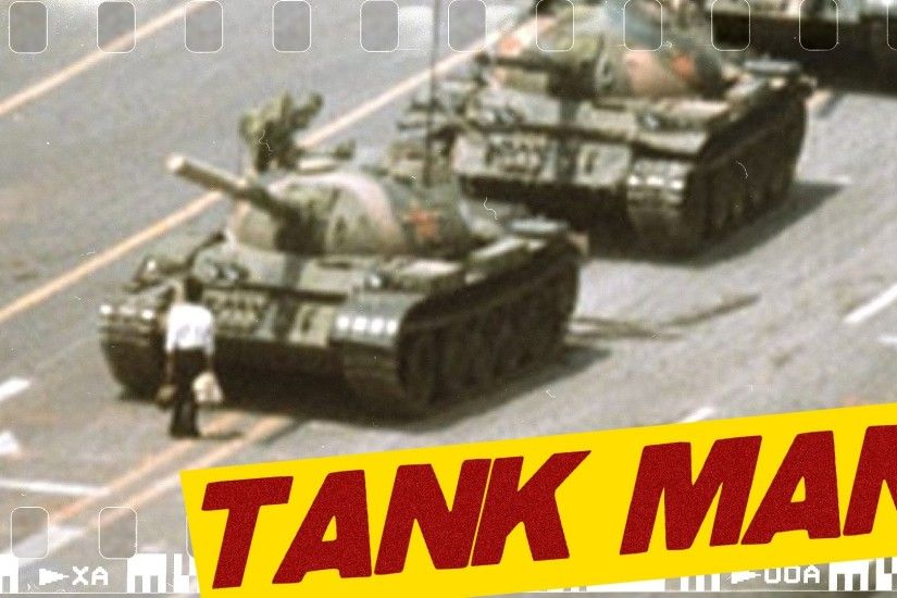 Tank Man - The Tiananmen Rebel! I ICONIC PHOTOGRAPHS #2