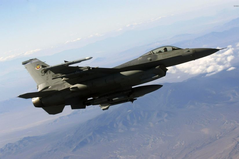 General Dynamics F-16 Fighting Falcon [12] wallpaper