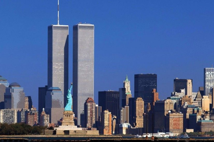 Wallpapers of the twin towers in New York 1920x1080 1080p hd .