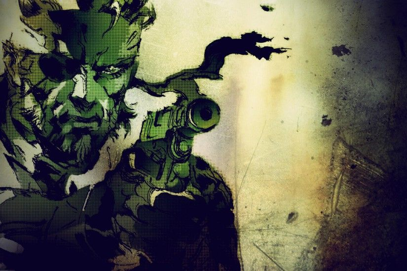 Preview wallpaper metal gear solid, stealth-action, sony playstation, pc  3840x2160