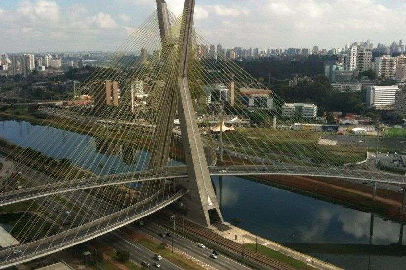 Panoramic Sao Paulo bridge and Skyline by CarlosAlk on DeviantArt Szechenyi  Chain Bridge | HD Wallpapers · 4K ...