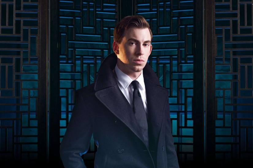 Hardwell with a black tie wallpaper 2880x1800 jpg