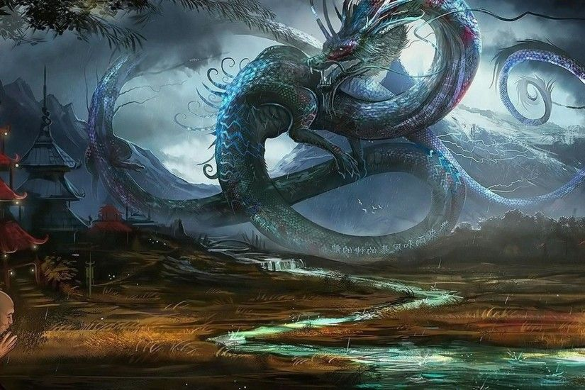Wallpapers For > Chinese Dragon Wallpapers 3d