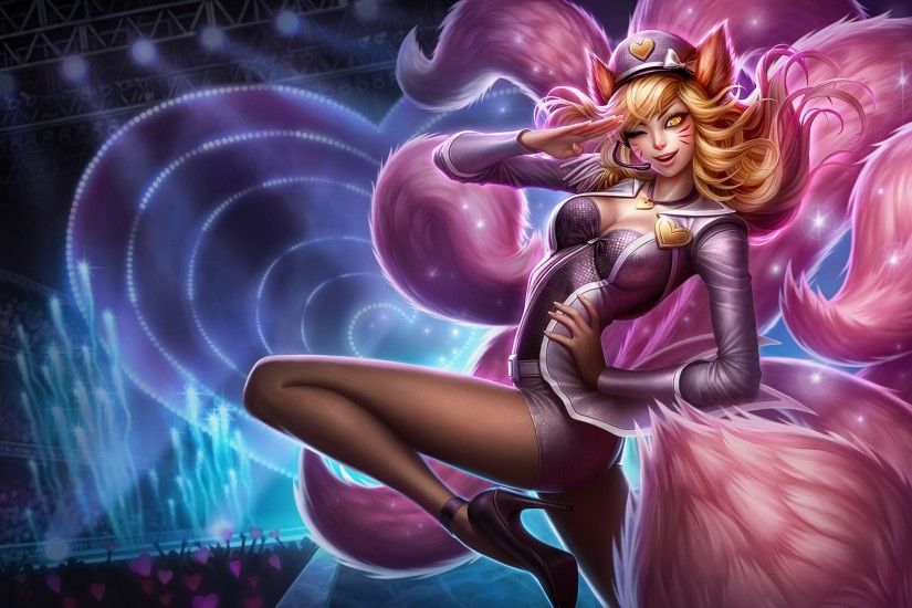 League Of Legends Ahri Wallpapers HD