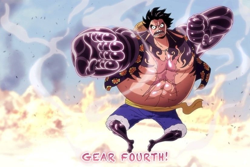 Anime - One Piece Monkey D. Luffy Haki (One Piece) Gear Fourth Wallpaper