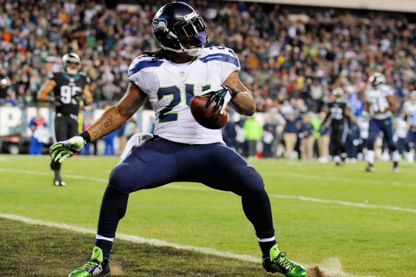 Marshawn Lynch thinks media could prevent Hall of Fame bid | NFL | Sporting  News