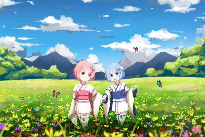 rem wallpaper 1920x1080 mobile