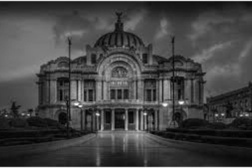 Black And White 4k Mexico City Wallpaper ...