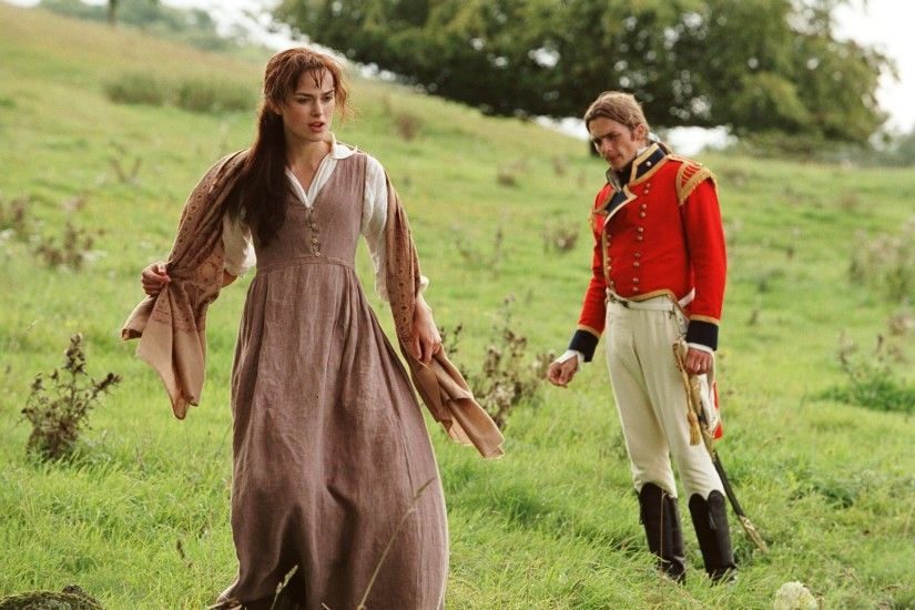 Lizzie Bennet and Wickham, Pride and Prejudice, 2005