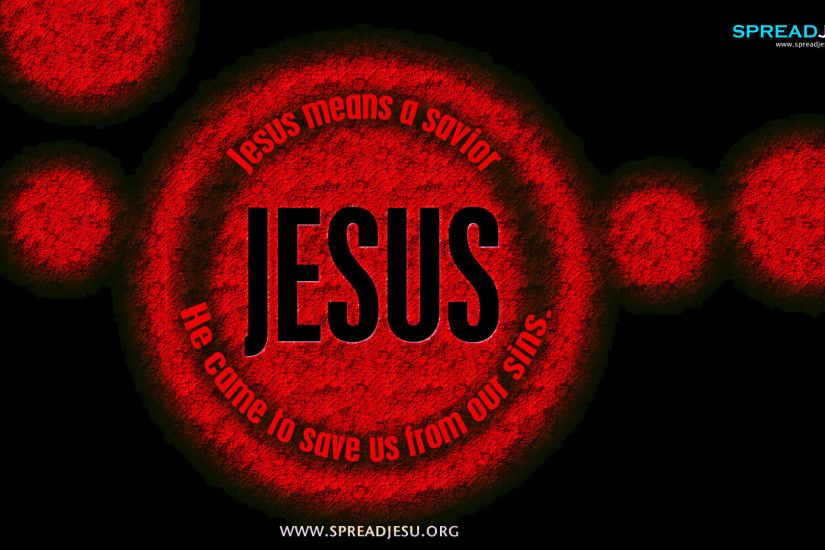 Jesus Means A Savior HD wallpapers