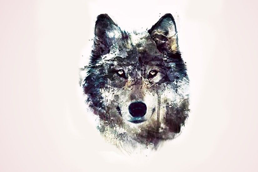 1920x1080 Abstraction wolves background eyes wolf abstract wallpaper |  1920x1080 .