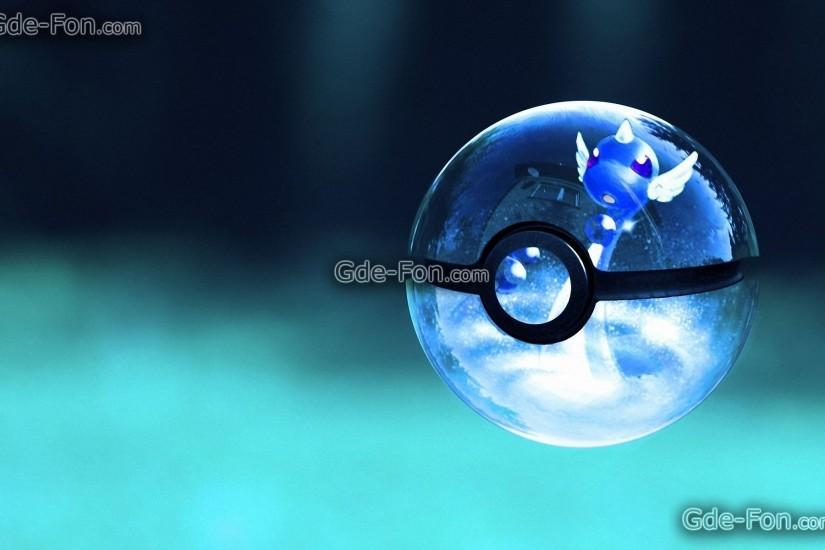 Download wallpaper Transparent, Poke, ball free desktop wallpaper .