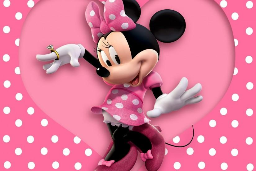 Minnie Mouse Background Wallpaper