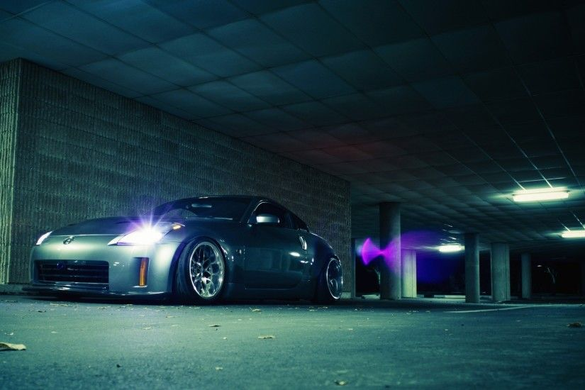 Cars Nissan Nissan 350Z stance silver cars wallpaper | 1920x1200 | 56254 |  WallpaperUP