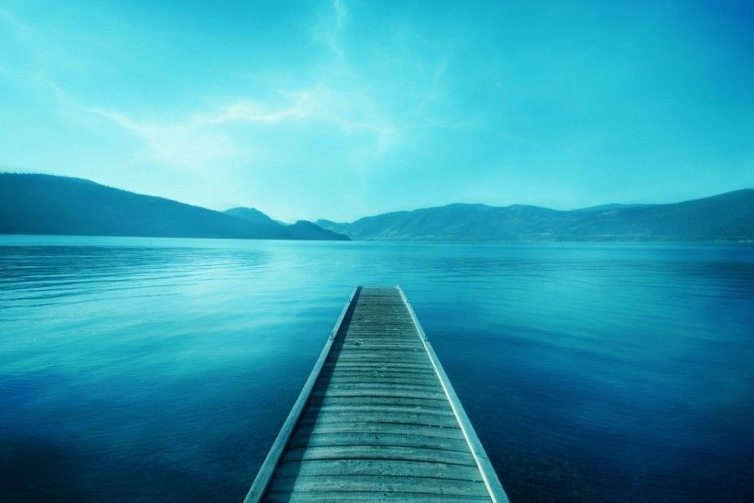 Blue Wallpaper Landscape Nature Wallpapers
